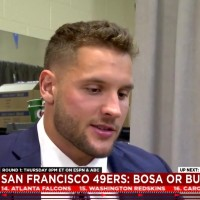 Draft week chatter: For 49ers, it's Bosa or bust