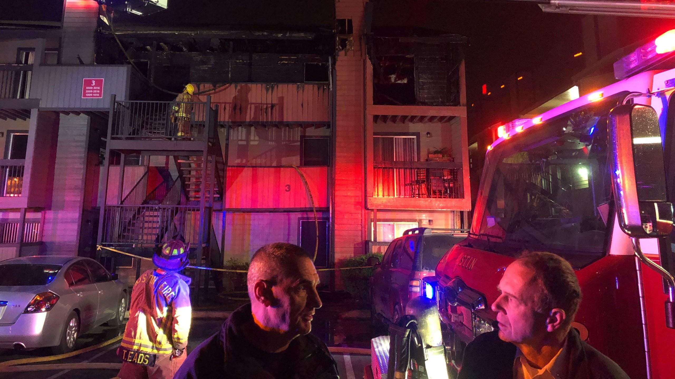 North Austin Fire 1 4119