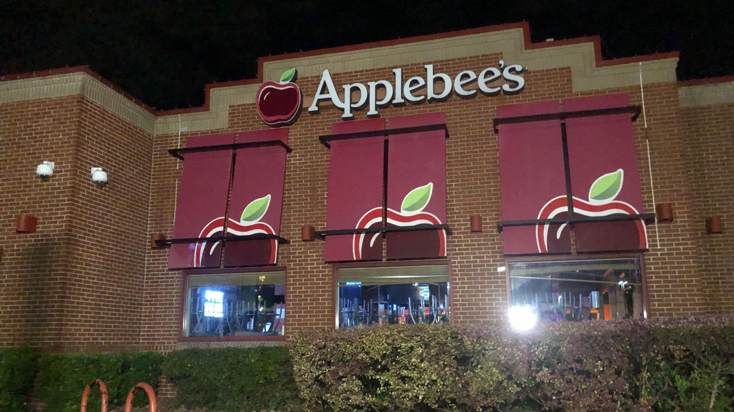 Applebee's where male victim was shot