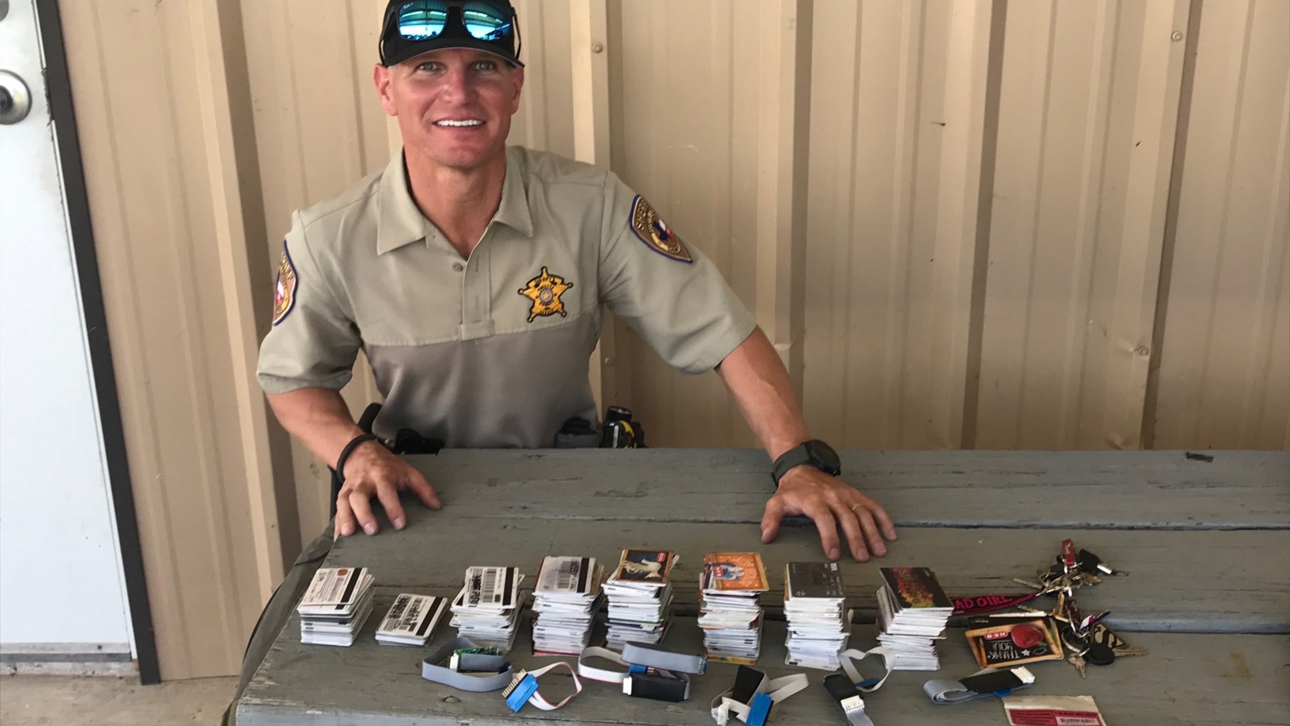 credit card skimmers bust