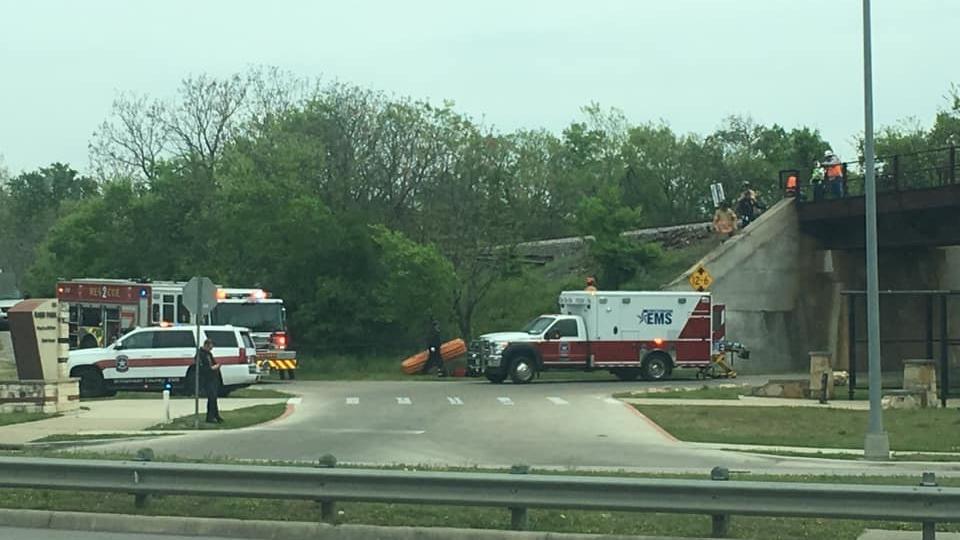 Round Rock Train crash
