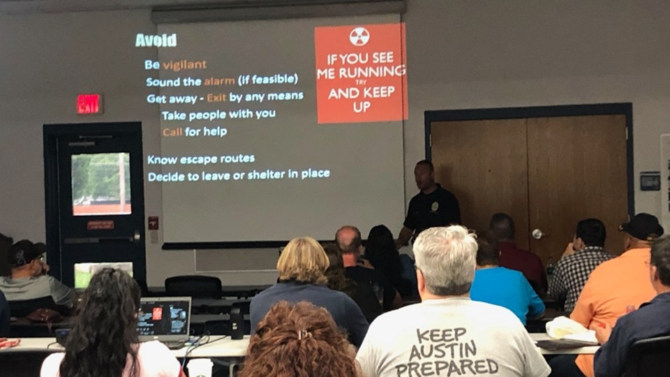 Austin Police region 4 active shooter training