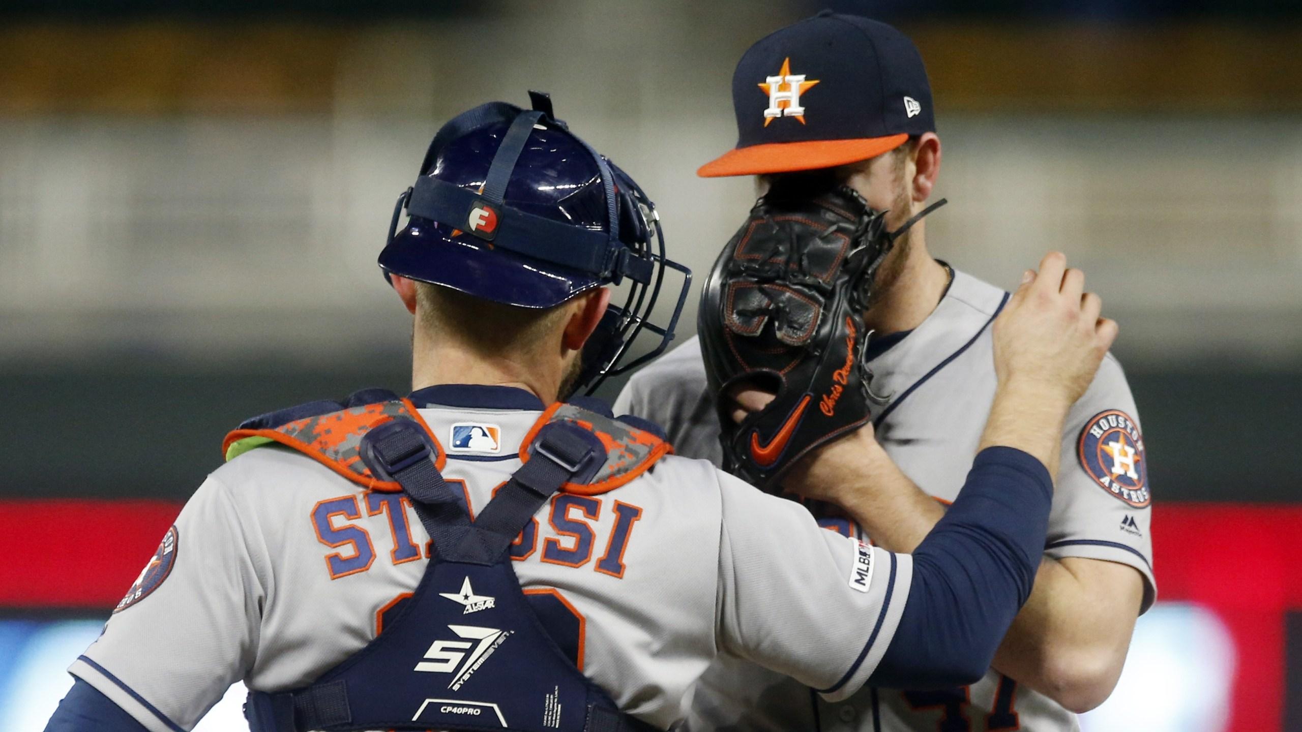 Astros Twins Colin McHugh