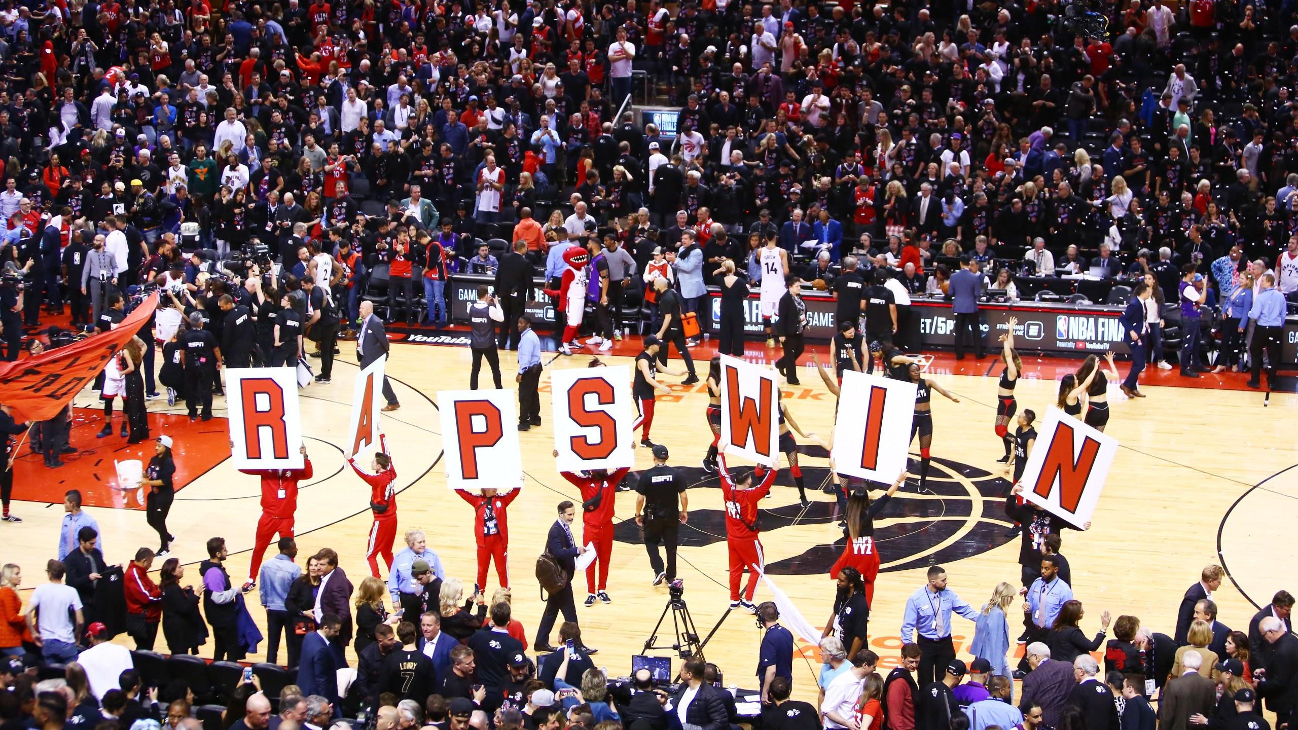 Raptors NBA Finals gm 1