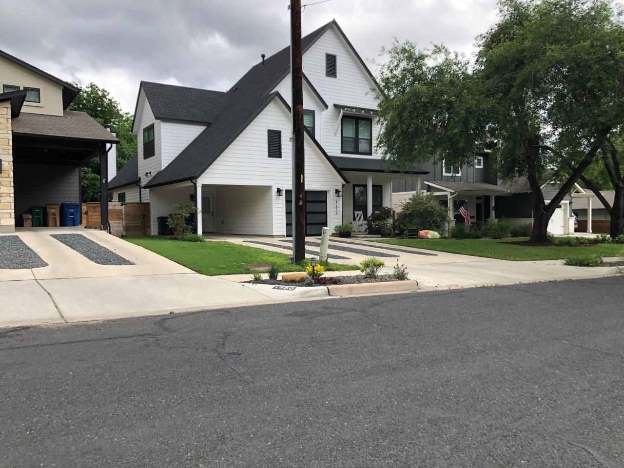 Houses Zilker neighborhood_