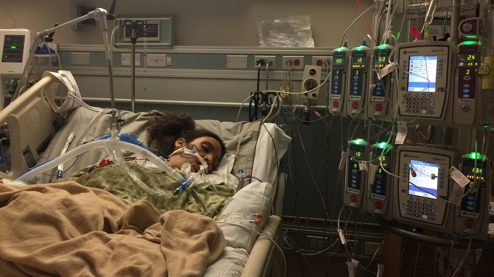 maternal - Leah Bahrencu hospitalized