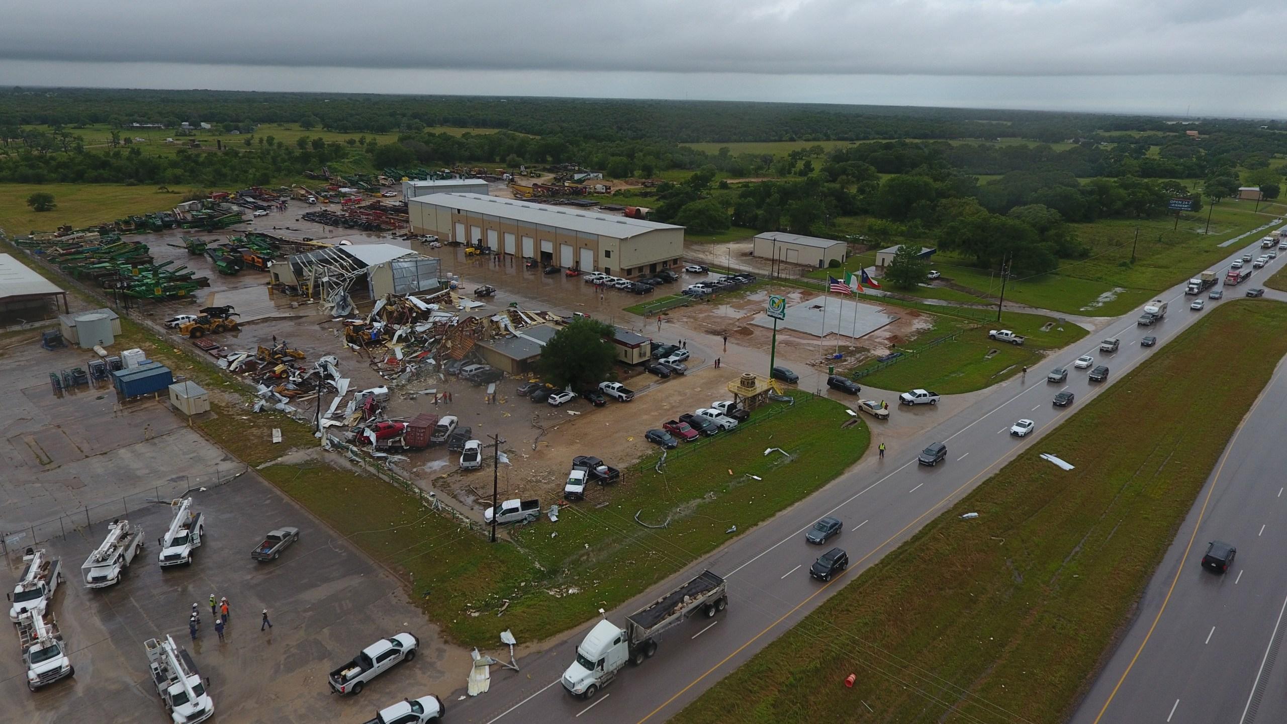 Fayette County tornado