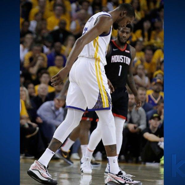 Kevin Durant calf injury 2019