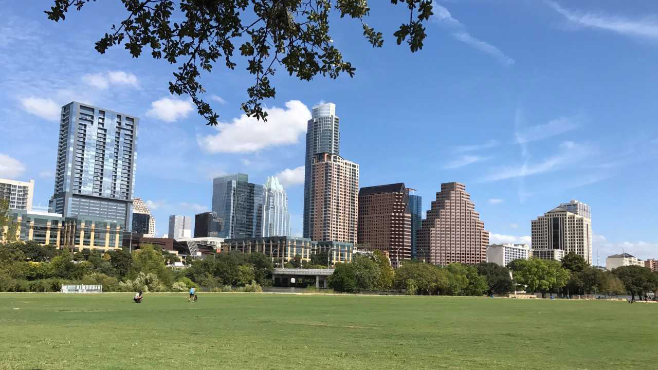 FILE: Downtown Austin skyline
