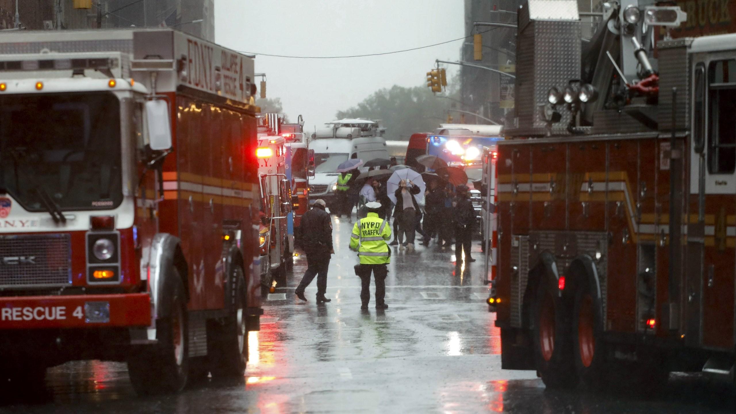 Helicopter Crash Manhattan