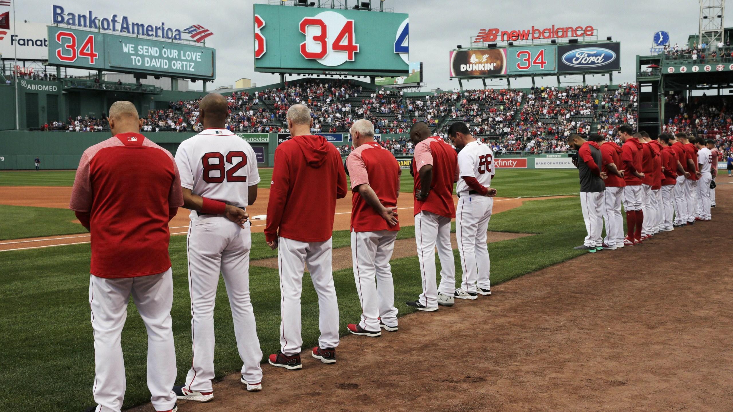 David Ortiz tribute Red Sox