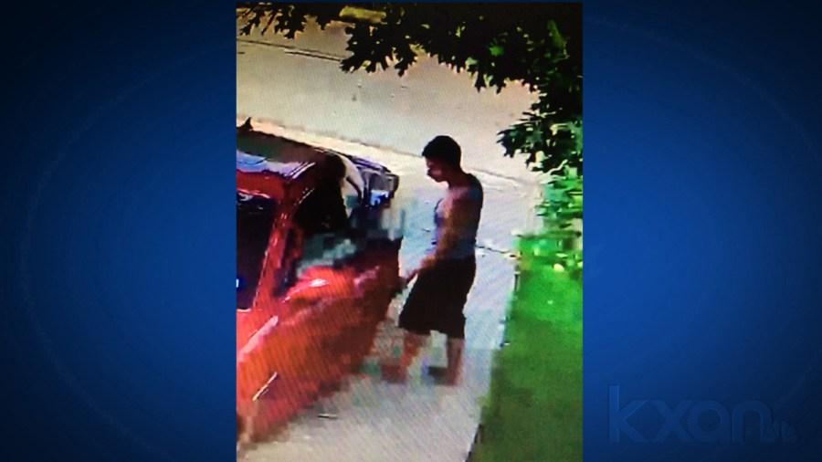 Hutto car burglary
