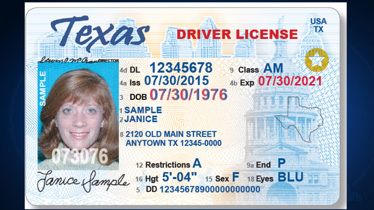 Reminder! Your driver's license needs a star if you want to use it to travel next year