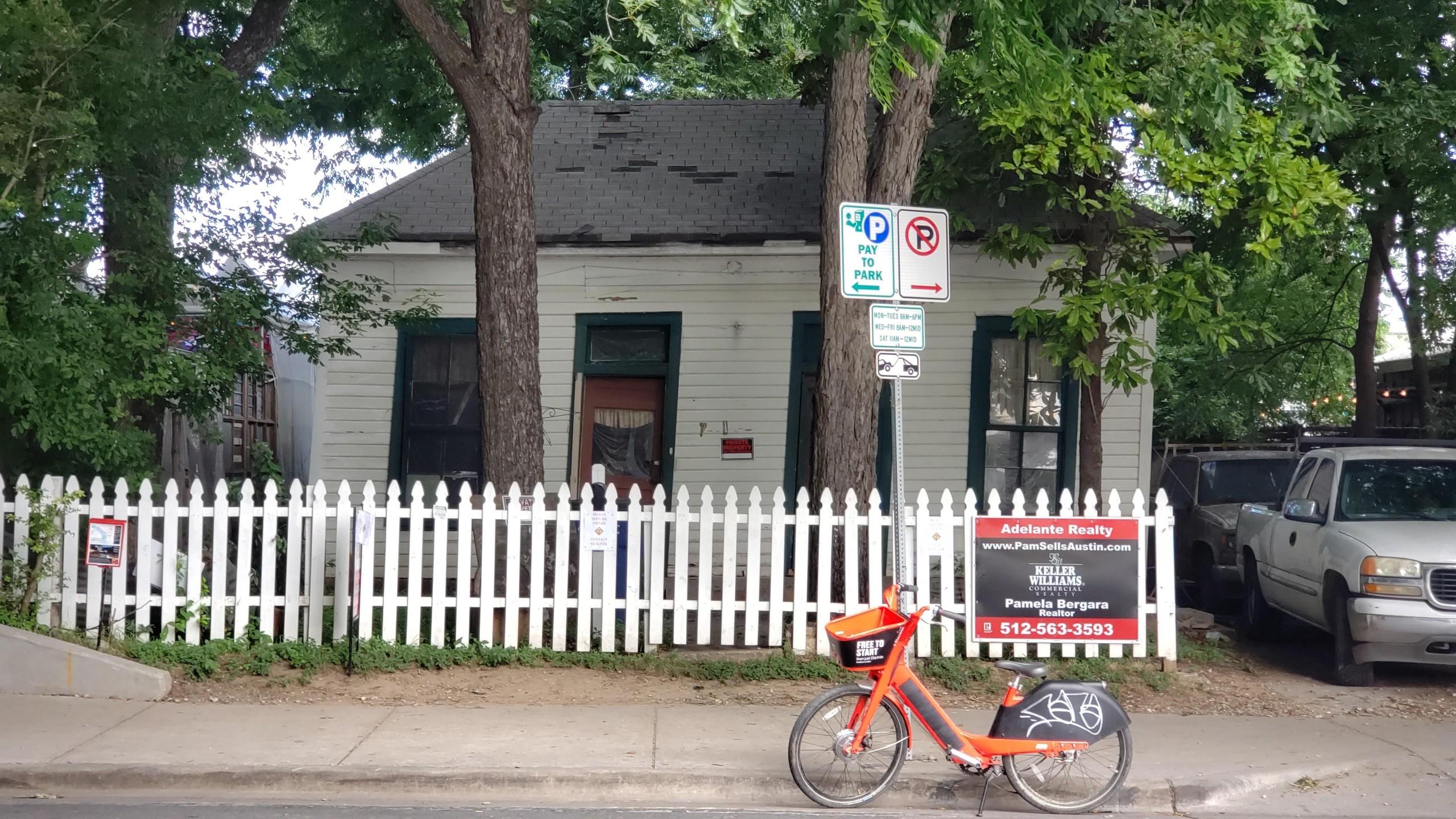 Rainey St house for sale