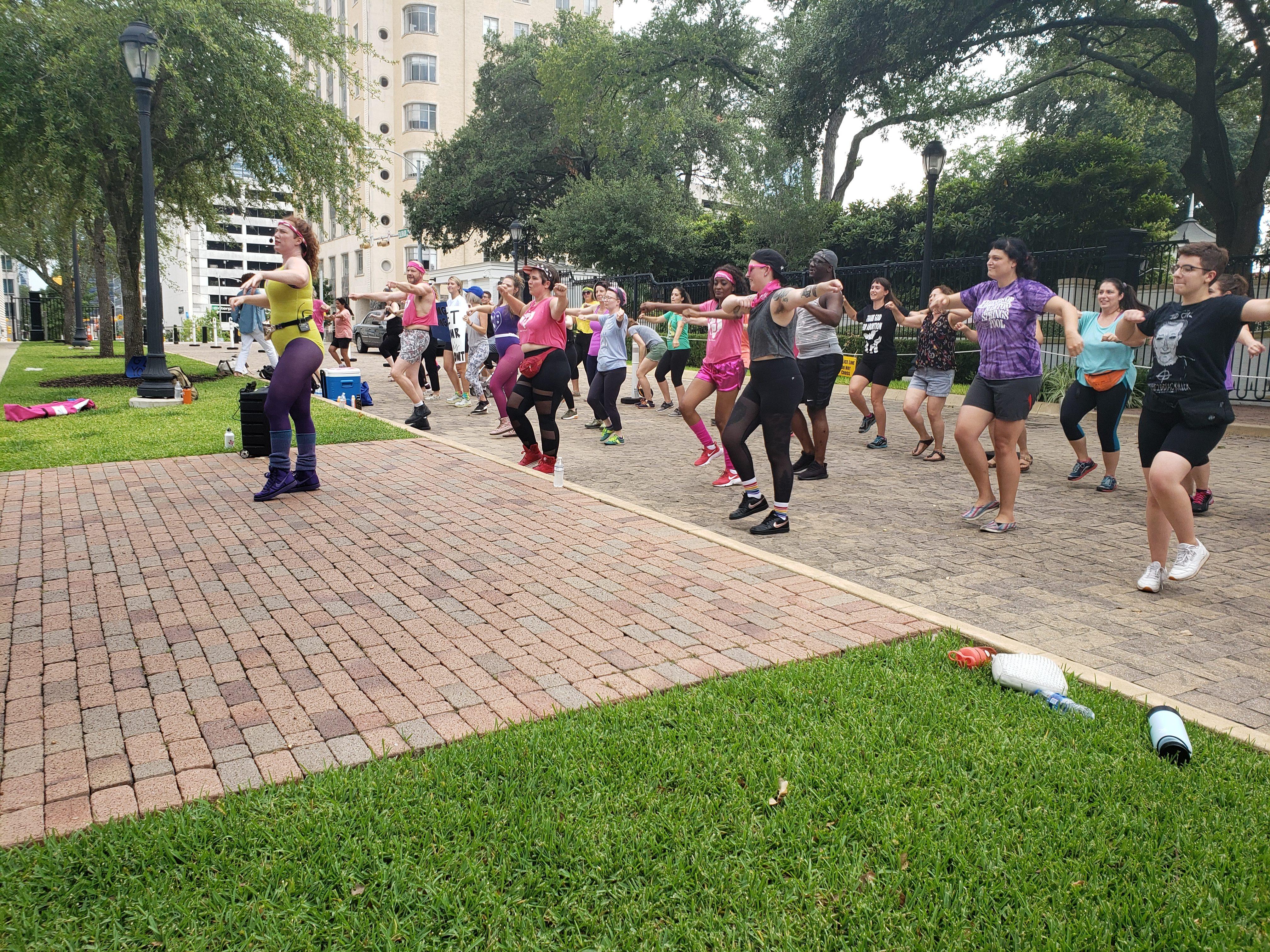 Plannned Parenthood Dance Protest 71519
