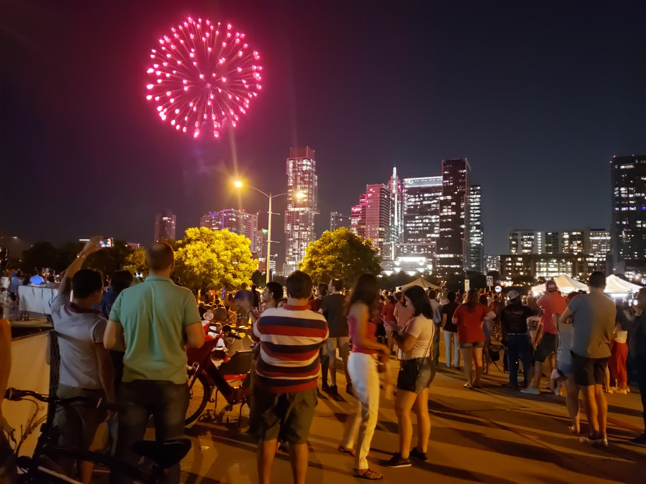 Austin 4th of July fireworks