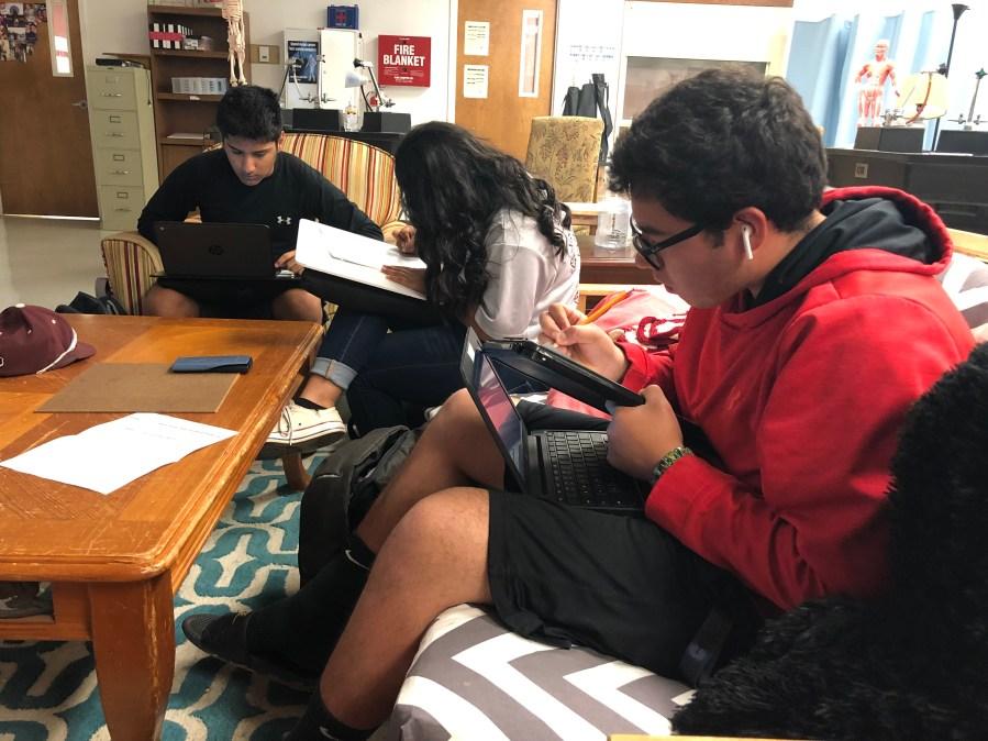 Ralls High School students