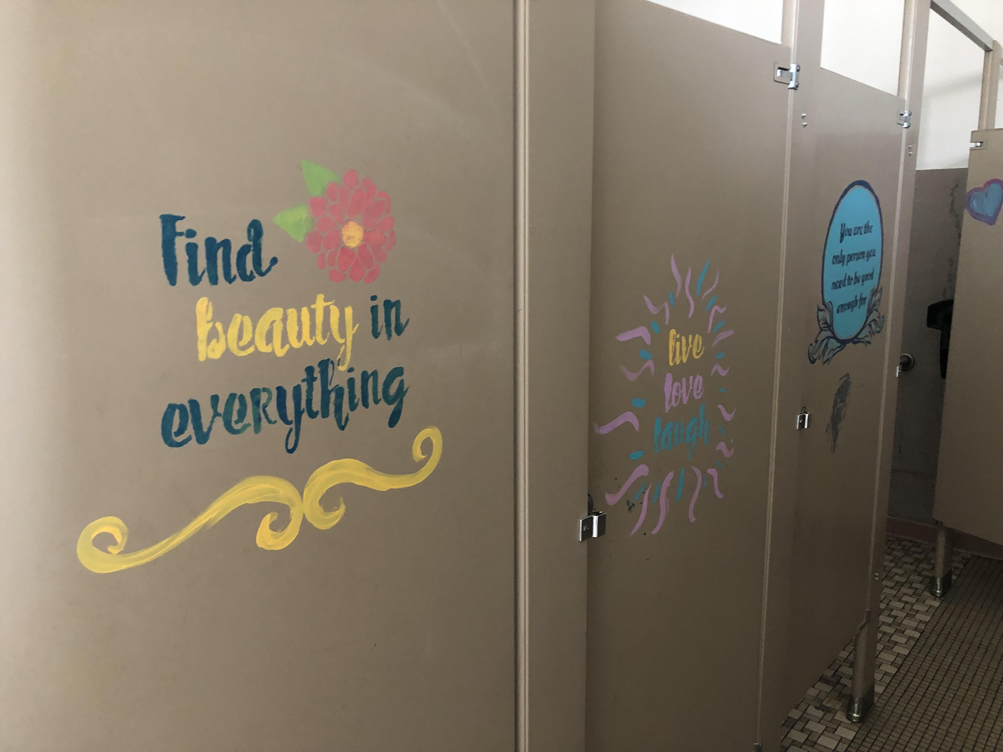 Marietta bathroom stalls
