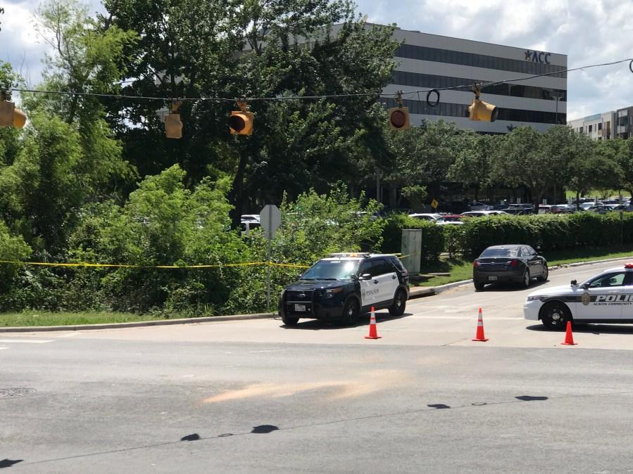 Suspicious death. Clayton and middle Fiskville Road