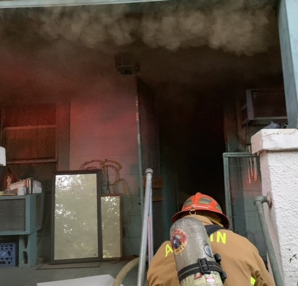 Red River House Fire