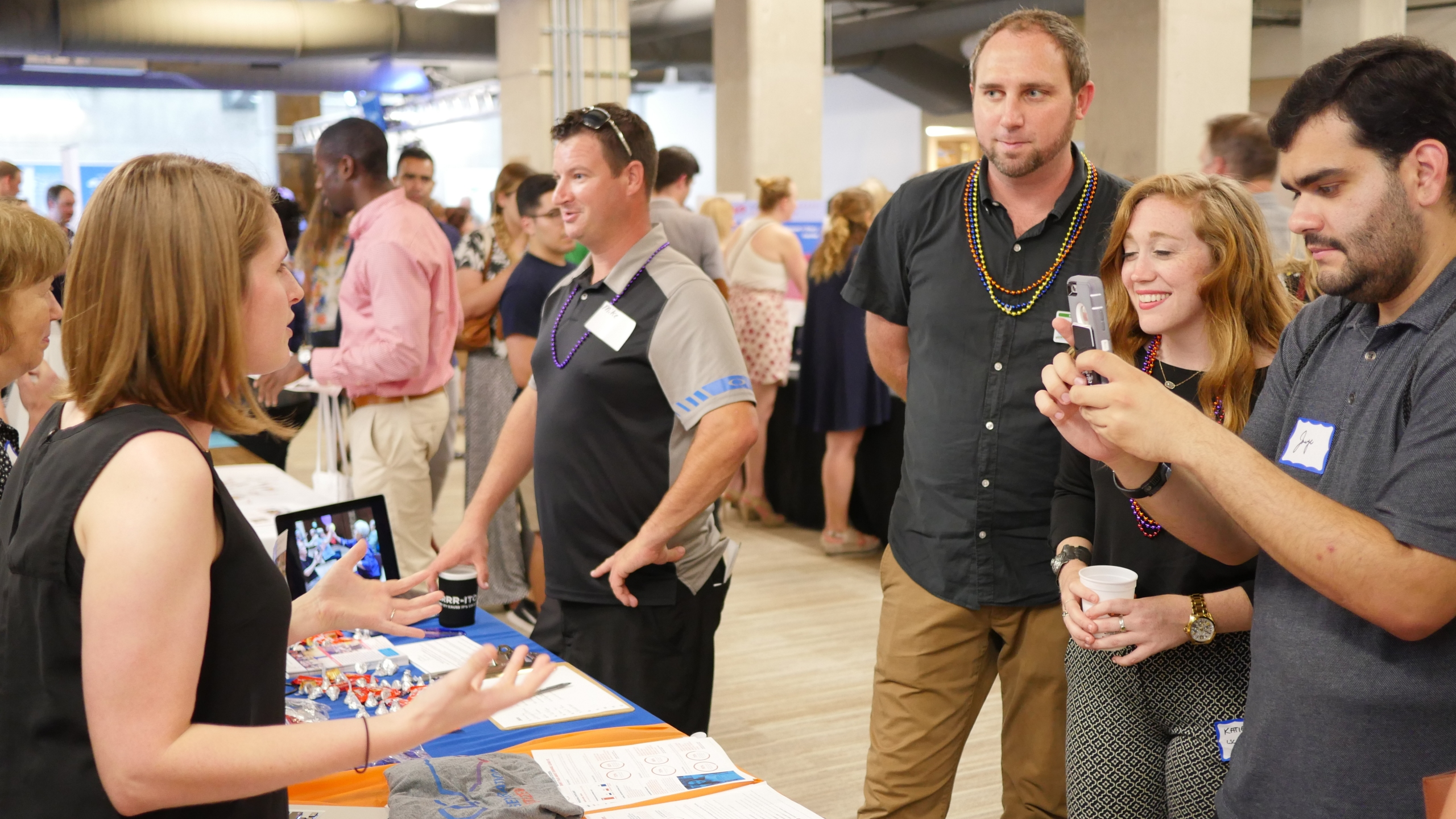 Young professionals attend AYC's 9th annual Nonprofit Fair in 2018. (Photo: Austin Young Chamber)