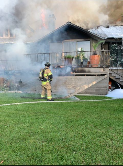 UPDATE: West Lake Hills home a total loss after blaze