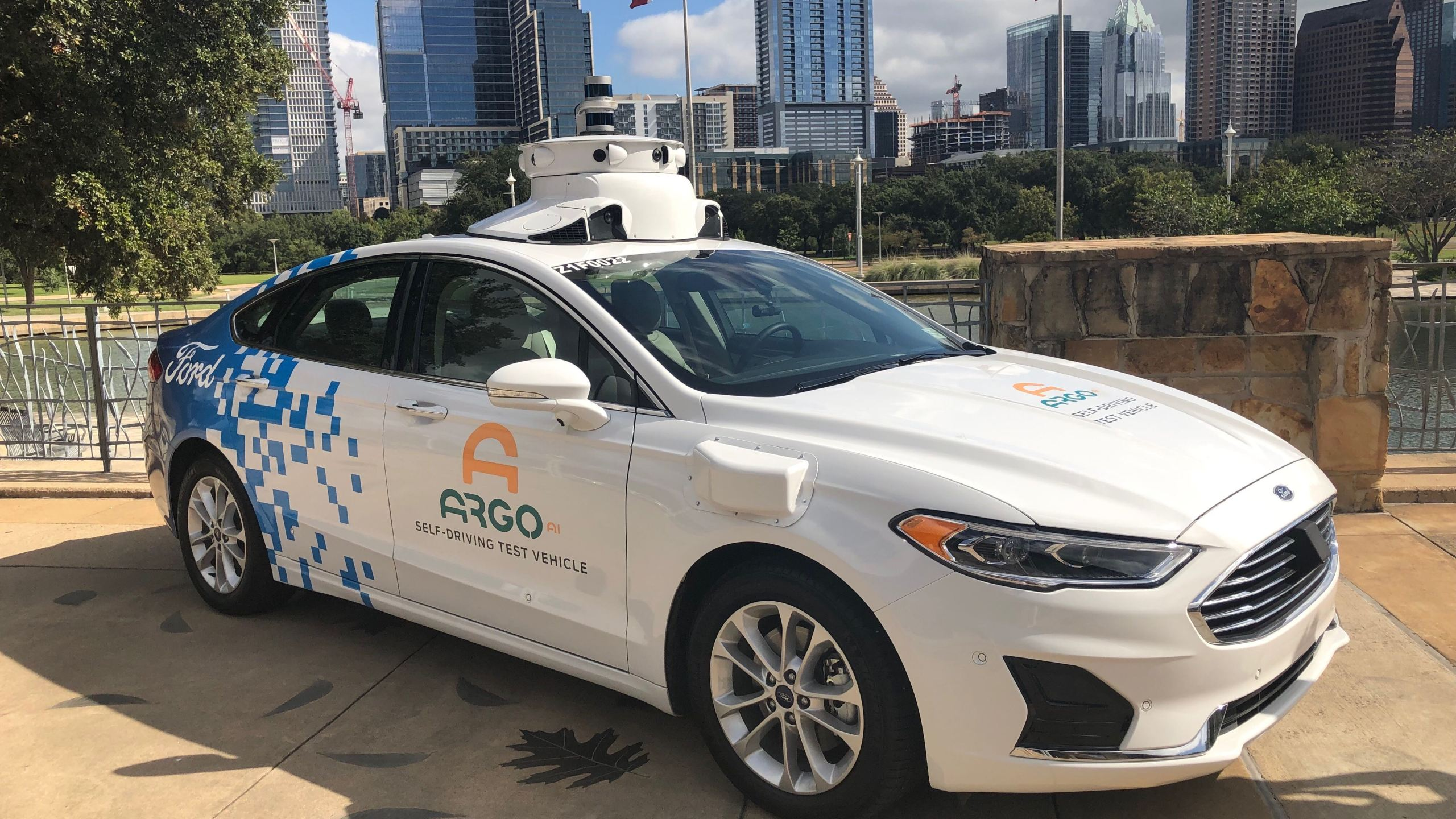In 2019, Ford began testing out its autonomous vehicle services in Austin, with the city being one of three where the company tests its technology. (KXAN Photo)