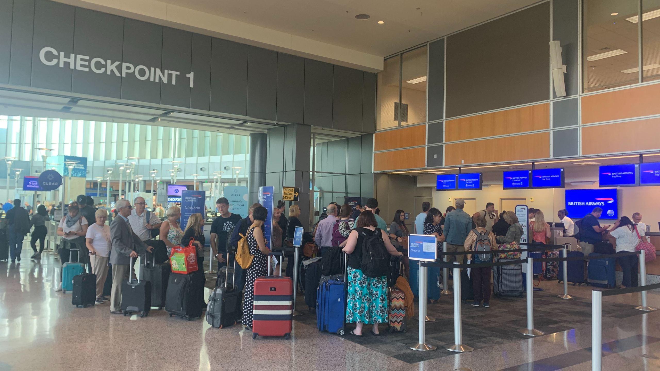 austin airport wait times