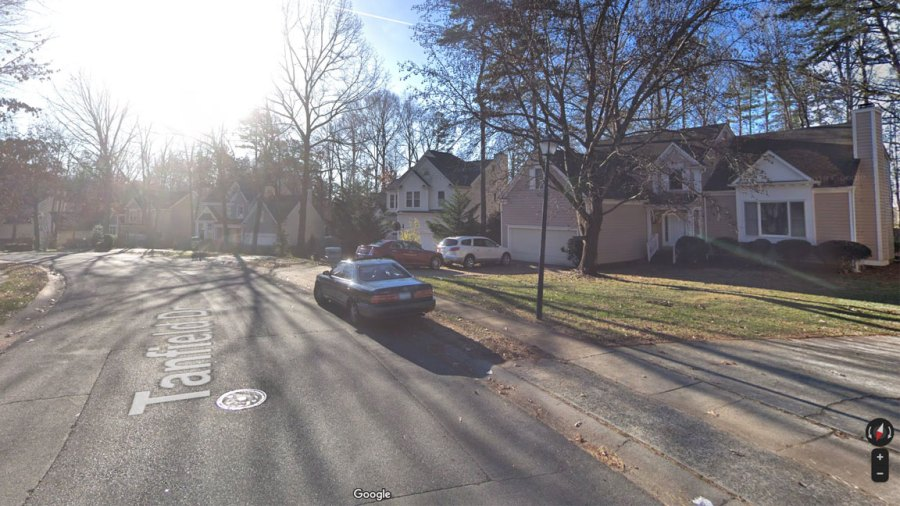 This is a Google Street View image of the 2000 block of Tanfield Drive where the Sept. 19 shooting took place at 3 p.m. ET (Courtesy: Google Maps)