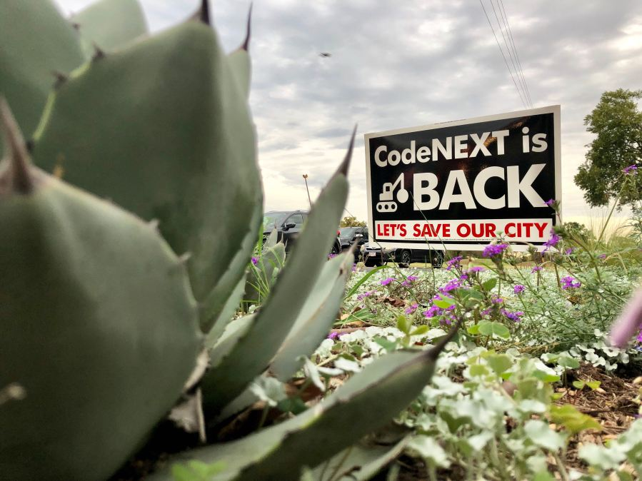 CodeNEXT is back sign