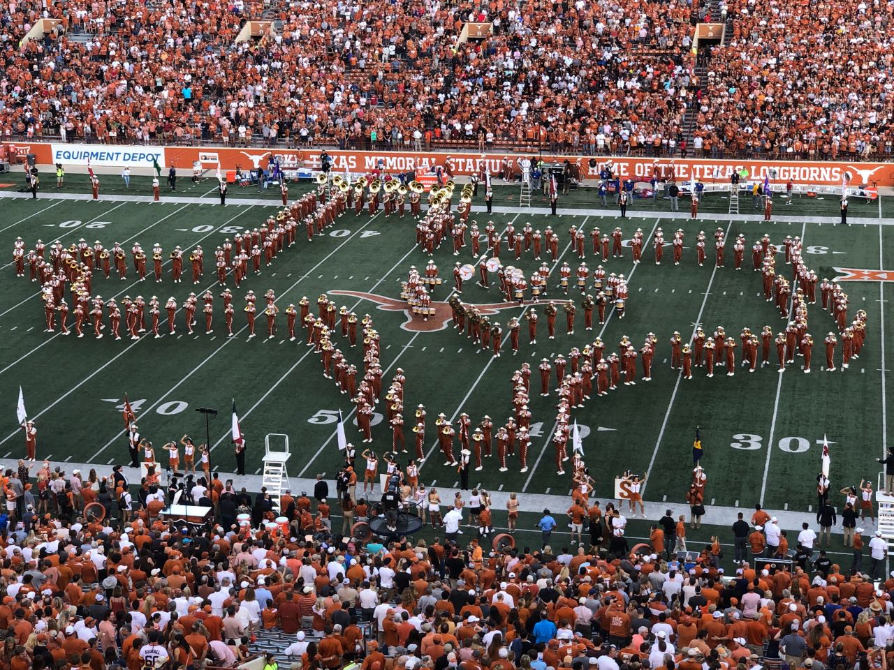Longhorn Band won't play 'The Eyes of Texas' at final UT home game