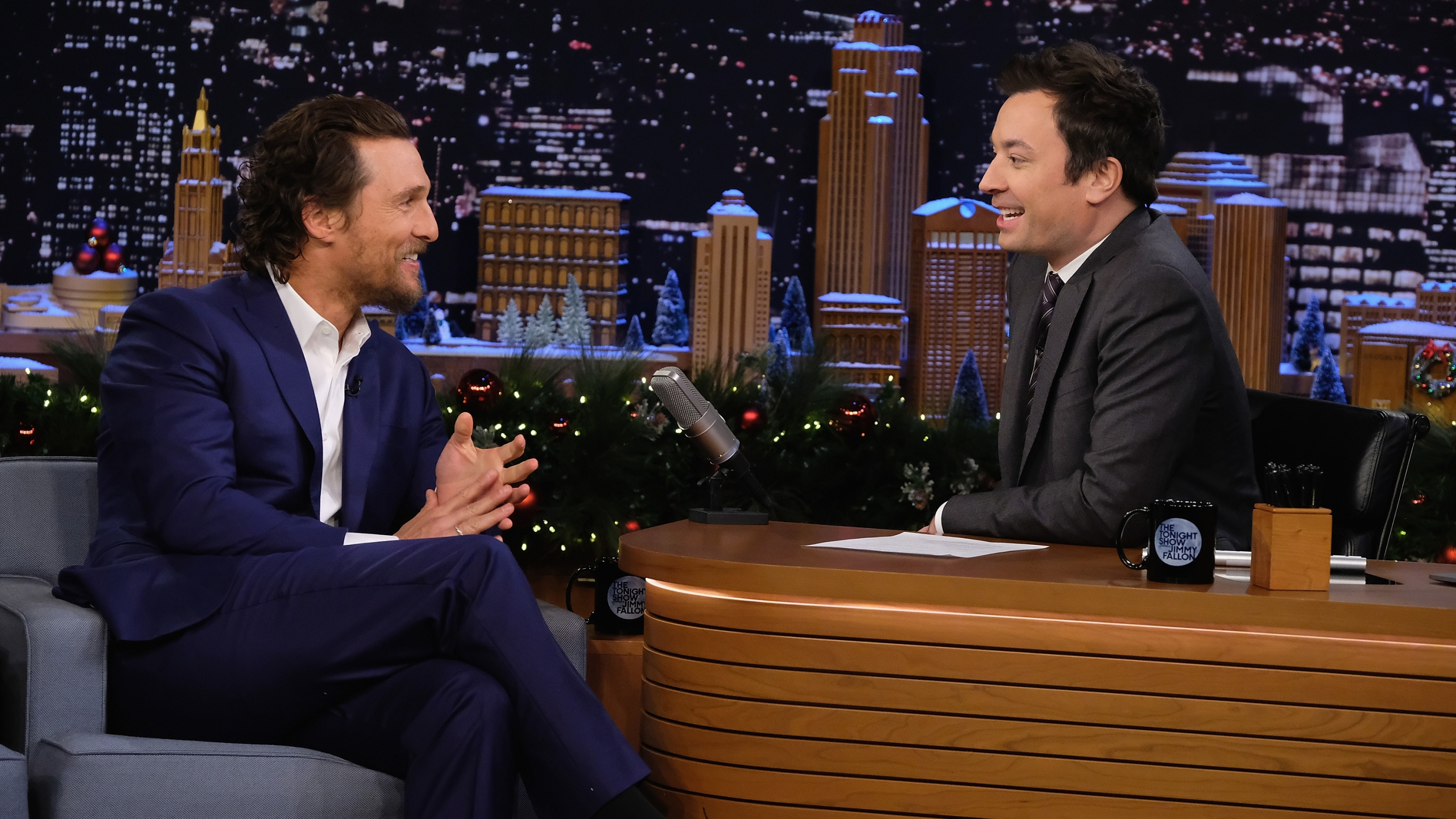 "Matthew McConaughey Visits ""The Tonight Show Starring Jimmy Fallon"""