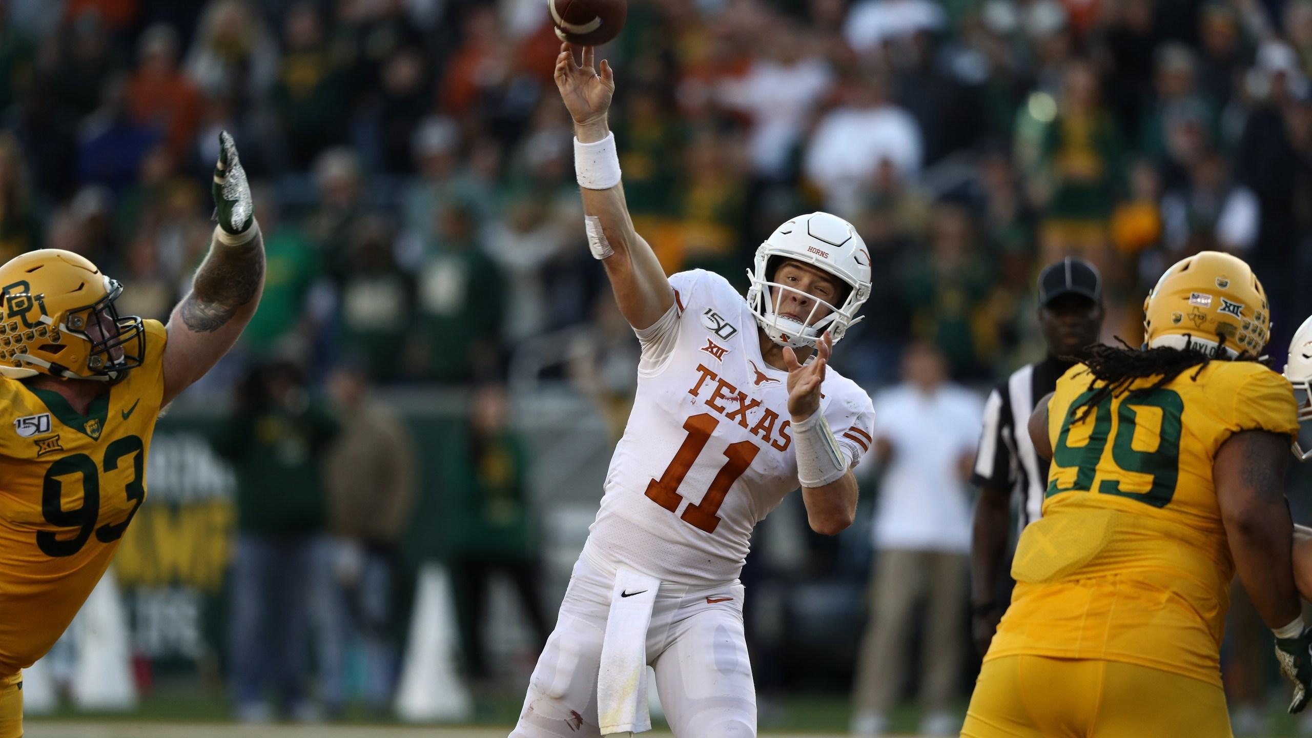 Texas v Baylor Sam Ehlinger