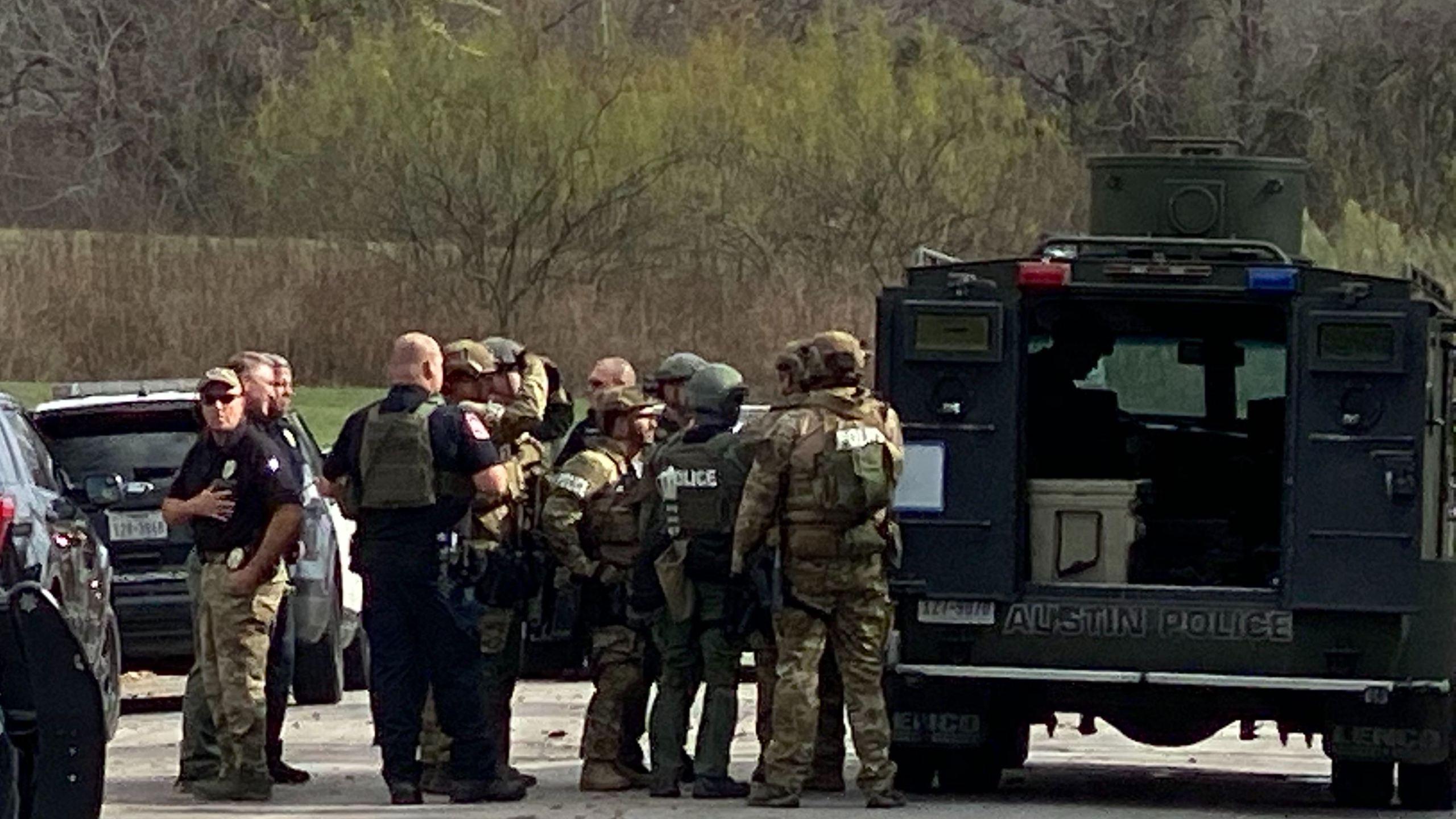 SWAT call in east Austin