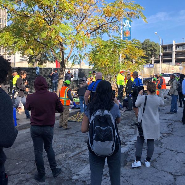 ARCH homeless cleanup