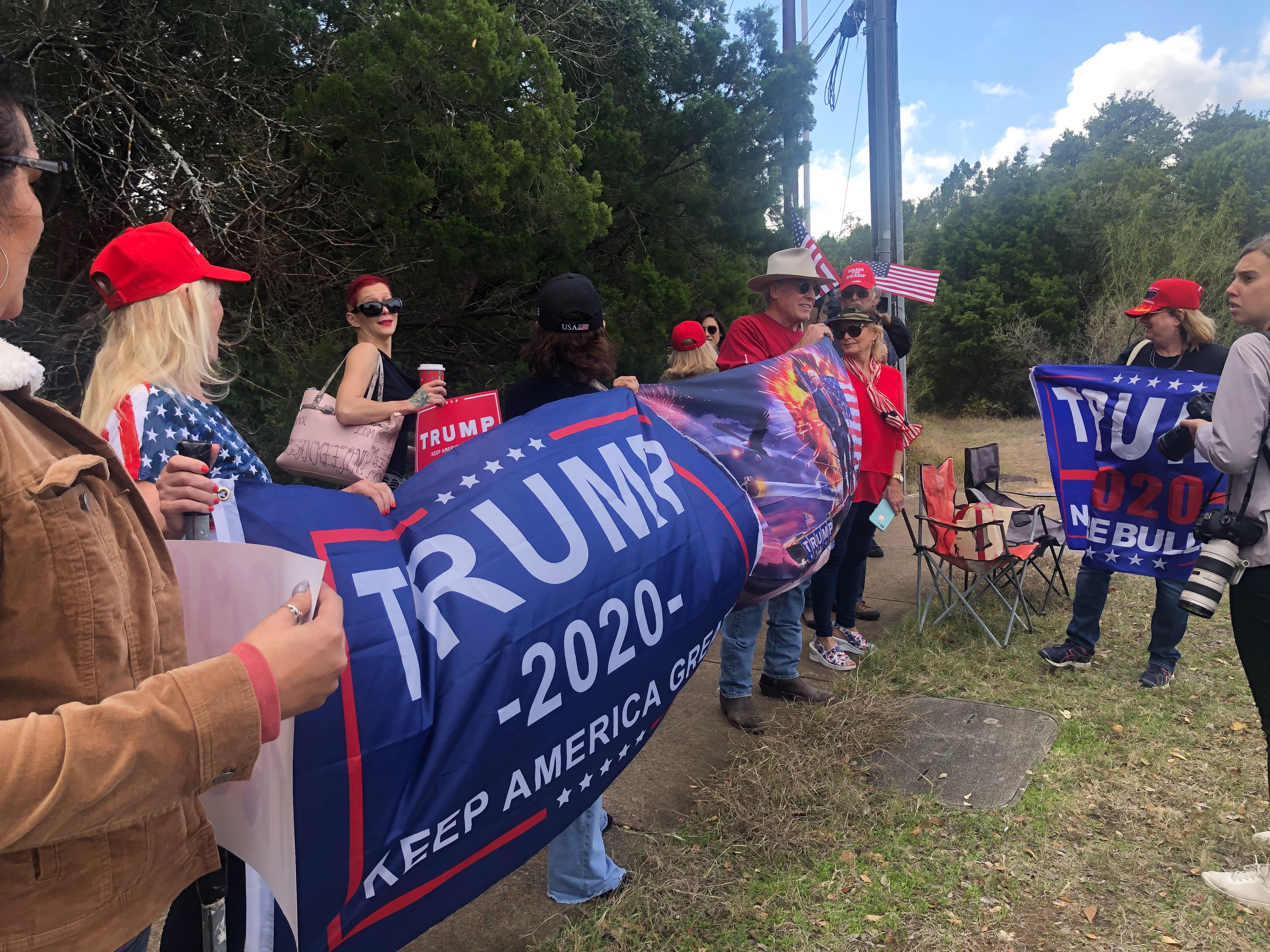 Trump Victory Trump supporters (KXAN Photo/Kaitlyn Karmout)