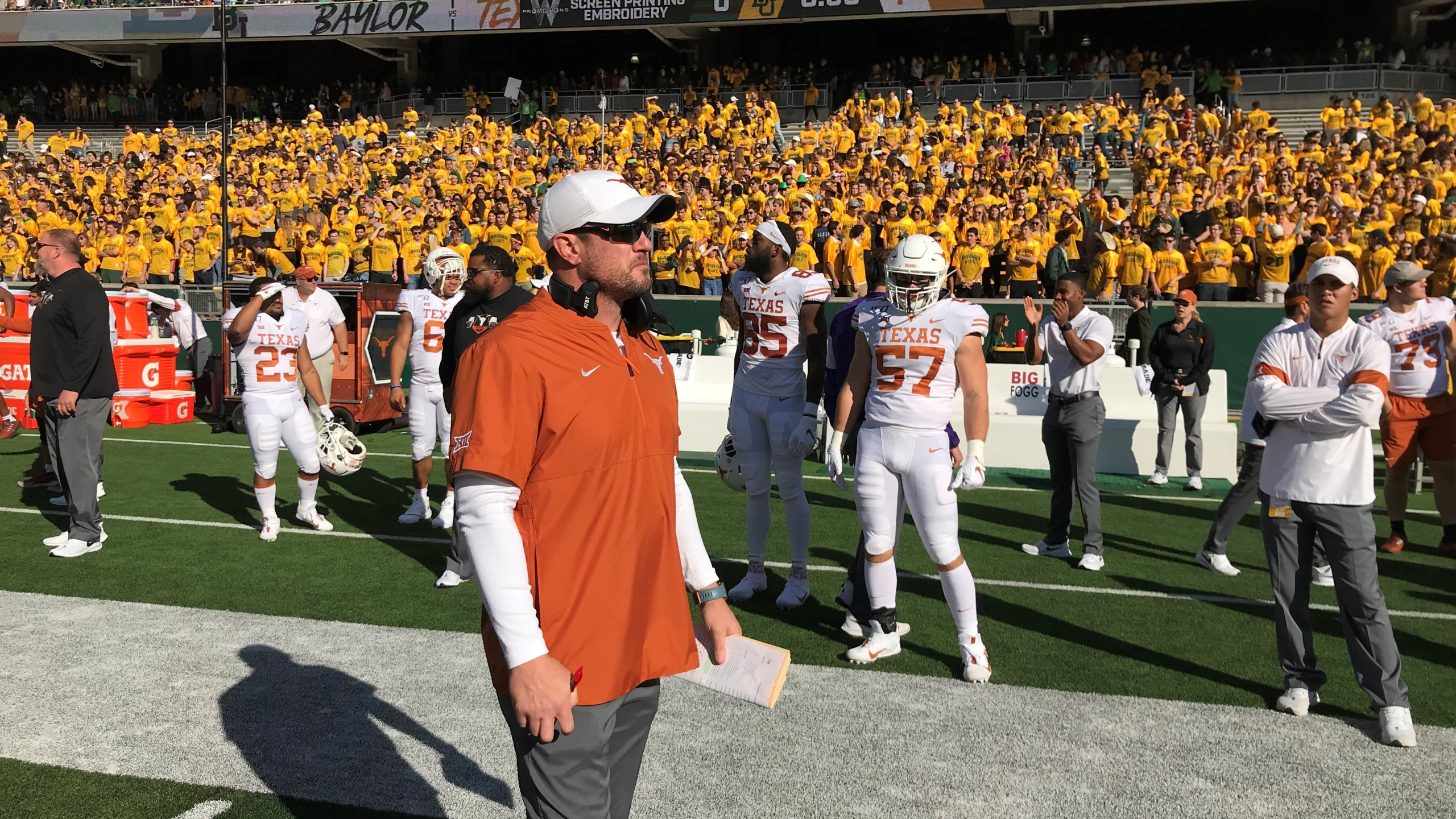 Tom Herman vs Baylor