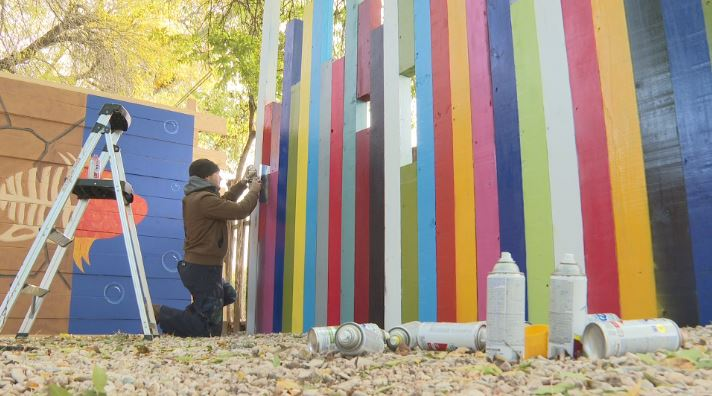 Build the W'ALL: East Austin artist wants to unite, not divide