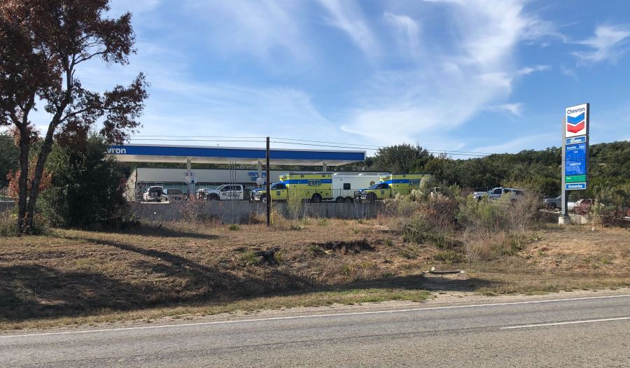 SWAT responded to a Chevron gas station in Spicewood Dec. 5, 2019 (Courtesy Daniel Freeman)