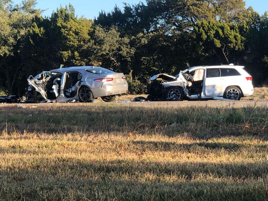 SH 71 crash in Oak Hill
