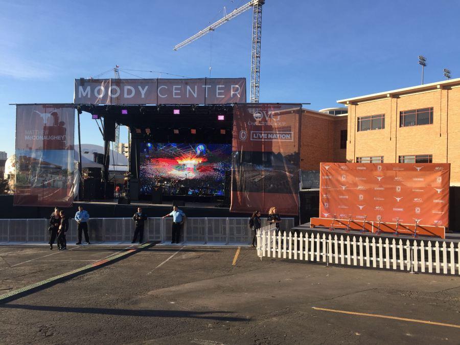 UT Moody Center Groundbreaking event