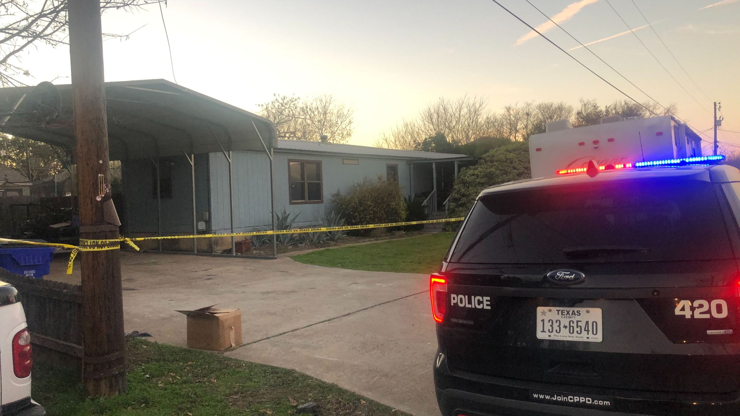 Police investigate at Cedar Park home 12-14-19