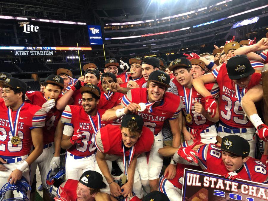 Westlake 2019 6A-D2 State Champions