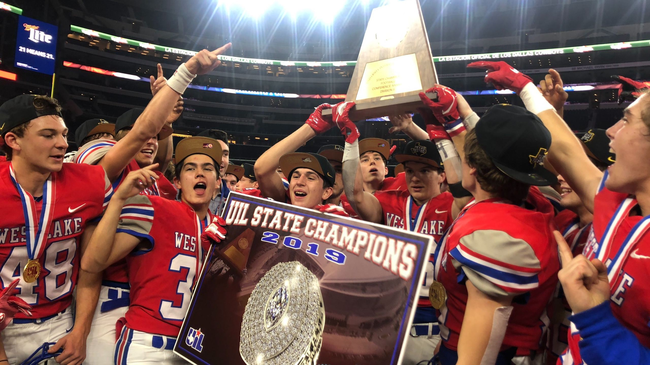 Westlake 2019 6A-D2 State Champions