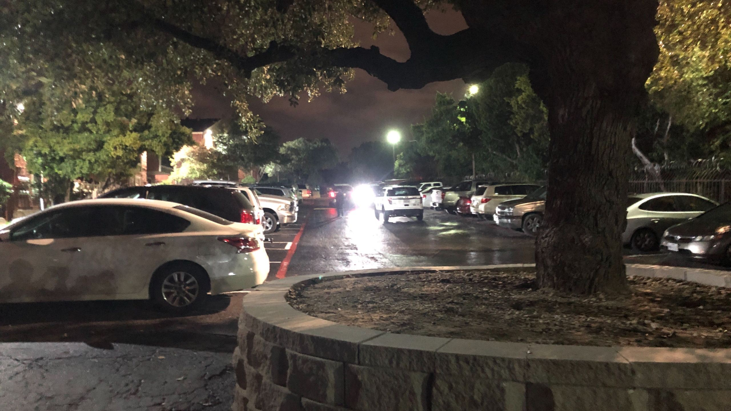North Austin shooting scene