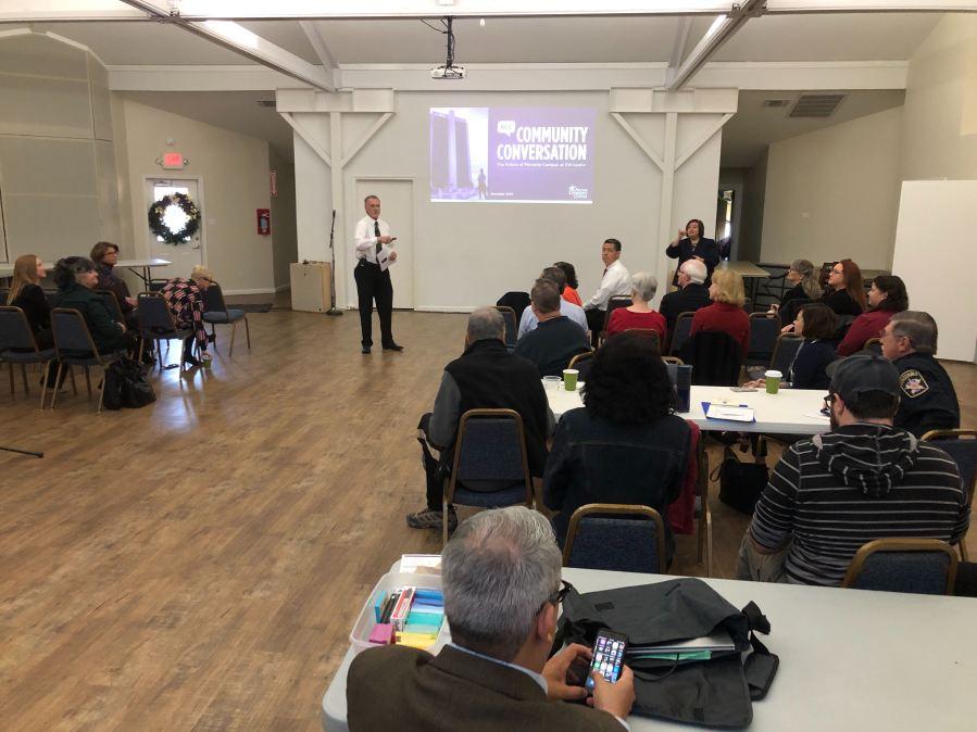 ACC pinnacle community meeting