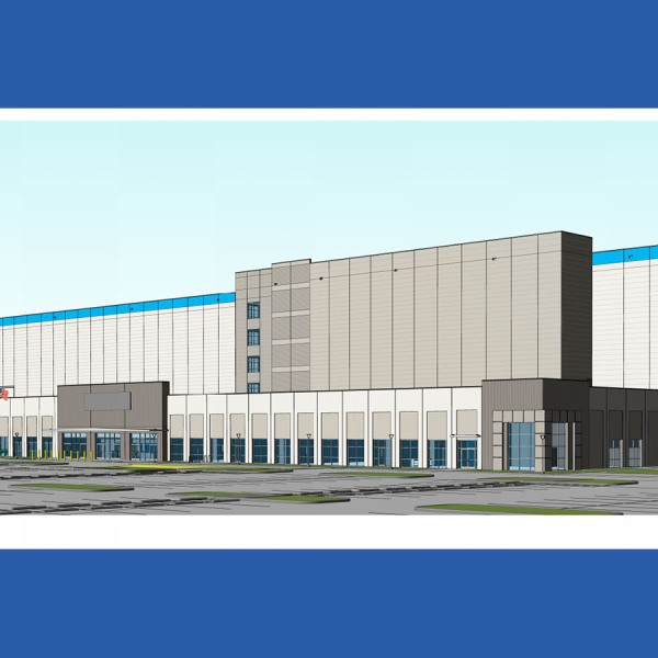 Rendering of Project Charm facility (CESO/City of Pflugerville Photo)