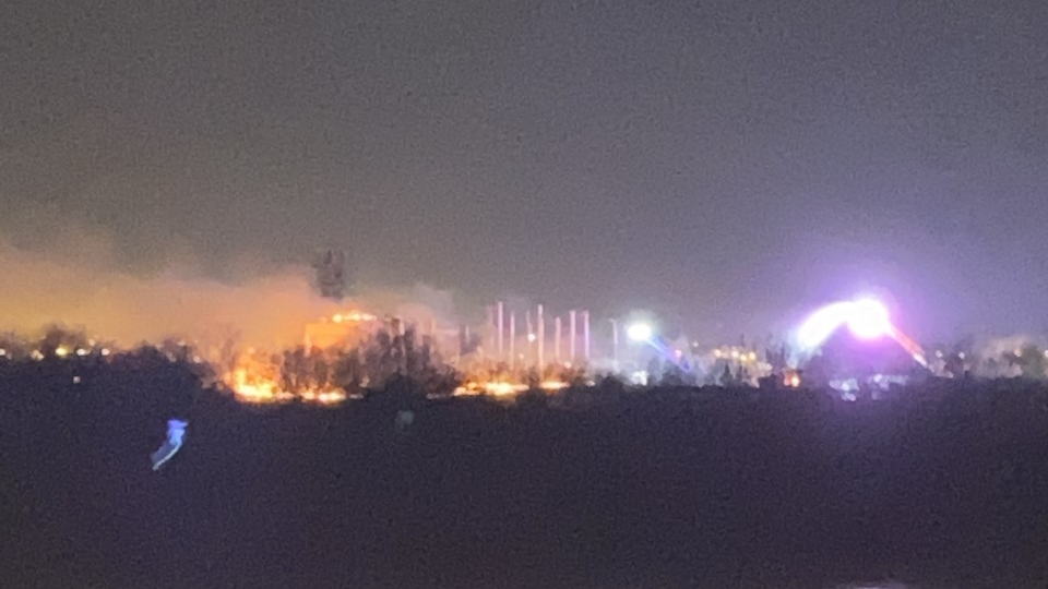 Taylor Fire at Durcon plant