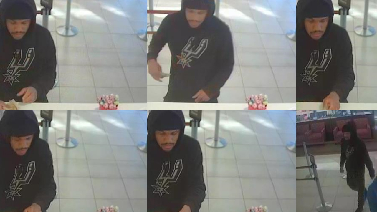 Police Need Help Finding Suspect Who Robbed Wells Fargo On