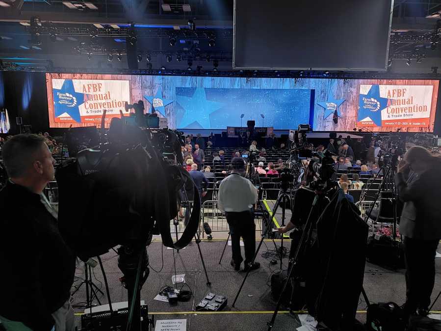 American Farm Bureau Federation's convention before Trump